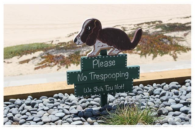 No Trespooping!